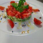 Tartare Zucchine e Fragole