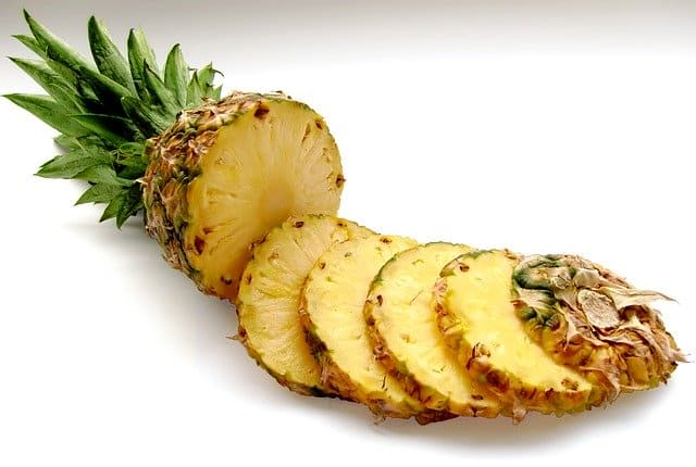 Ananas Tiepido con Passion Fruit