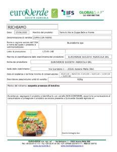 Allerta Alimentare | Botulino nella Zuppa con Farro 1