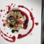 Carpaccio Zucchine Mirtilli
