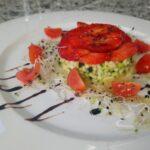 Tartare di Zucchine e Fragole