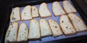 Crostini con Pancetta e Asiago 1
