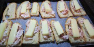 Crostini con Pancetta e Asiago 2