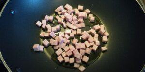 Mezze Penne con Spinaci, Cotto e Ricotta Salata 1