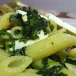 Mezze Penne con Spinaci, Cotto e Ricotta Salata 7