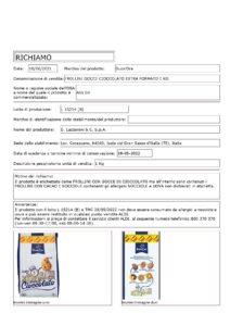 Allerta Alimentare | ALDI, Errore nel confezionamento dei Biscotti, presenza di Allergeni 1